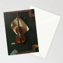 The old violin Stationery Cards