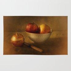 Still life with apples Rug