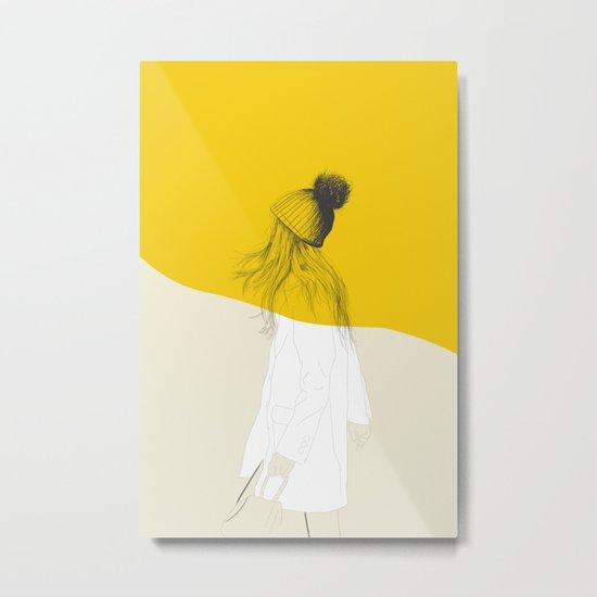 Woman Color 7 Metal Print