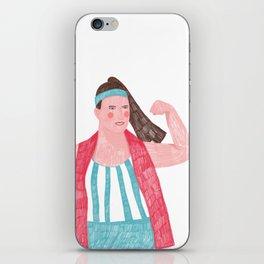 Sports Woman iPhone Skin