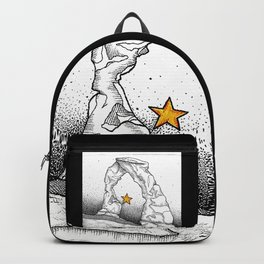Delicate Arch (B&W) Backpack