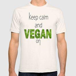 Vegan On T-shirt