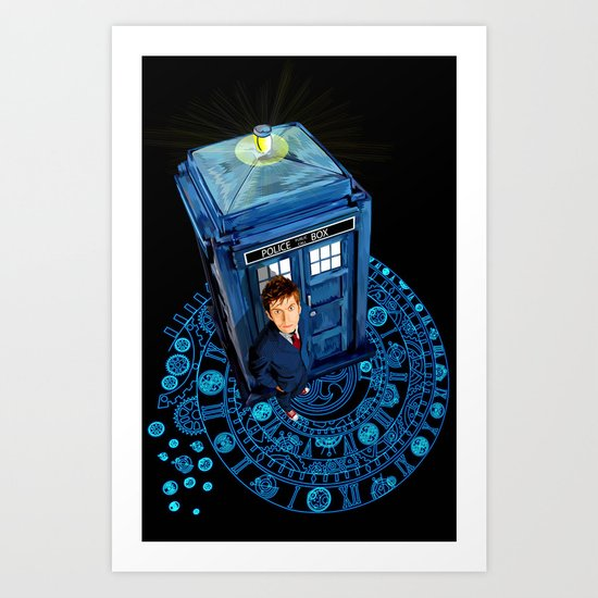 Doctor who at Arch of time Zone iPhone 4 4s 5 5c 6, pillow case, mugs and tshirt Art Print