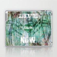 Life Starts Now Laptop & iPad Skin