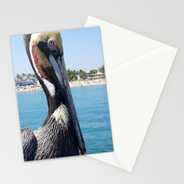 Fort Lauderdale Pier Pelican Stationery Cards