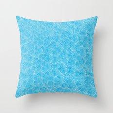Blue Meth / Happy Sky Throw Pillow