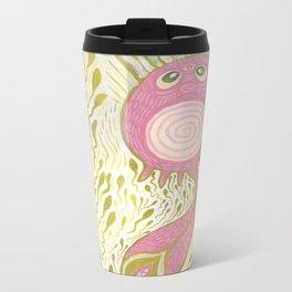 squid cat polliwog Metal Travel Mug