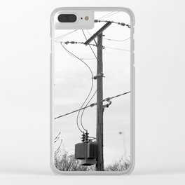 Somerset Power Line Clear iPhone Case