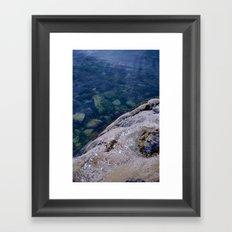 Land Meets Ocean Framed Art Print