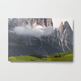 Lonely Cloud Metal Print