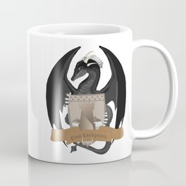 Clan Lochguard Black Crest Coffee Mug