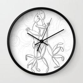 Rhyming Couplet #5 Wall Clock