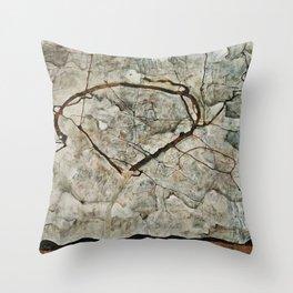 Egon Schiele - Autumn Tree In Stirred Air. Winter Tree Throw Pillow