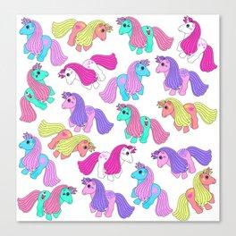 Priscilla's Ponies Canvas Print