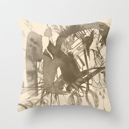 composition 5 Throw Pillow