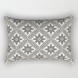 TAZA STAR TILE GREY Rectangular Pillow