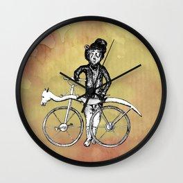 Bear's Bike Wall Clock