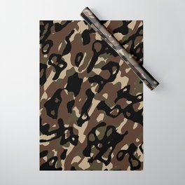 Camouflage Abstract Wrapping Paper