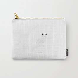 Multilingual cat  Carry-All Pouch