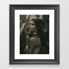 mny Framed Art Print