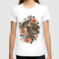 zombie T-shirts featuring Spangled & Plumed by Teagan White