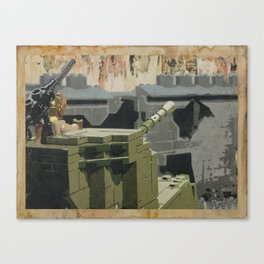 The Taking of Berlin Canvas Print