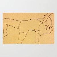 dancer Area & Throw Rugs featuring Dancer by Abundance