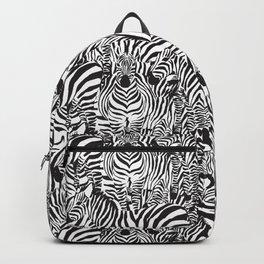 Zebras Printed Pattern Animal Print Jungle Exotic Backpack