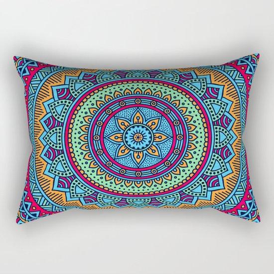 Hippie mandala 52 Rectangular Pillow