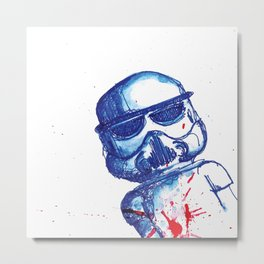 Trooper Metal Print