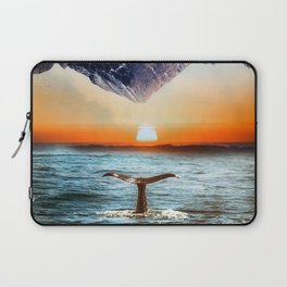 A whale and a morning Laptop Sleeve