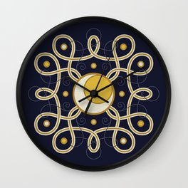 Celestial Convergence Wall Clock