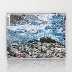 Starry Coit Tower Laptop & iPad Skin