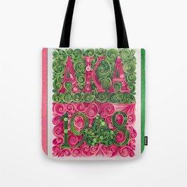 Alpha Kappa Alpha 1908 Tote Bag