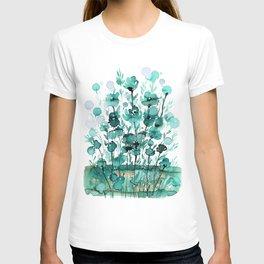 Floral Charm No.1K by Kathy Morton Stanion T-shirt