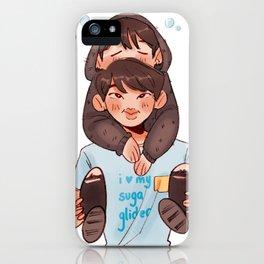 sleepy yoongi iPhone Case