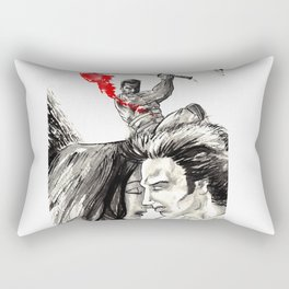 Blade doing the right thing Rectangular Pillow