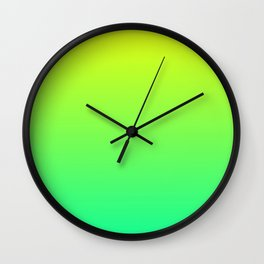 Sour Candy Gradient Wall Clock