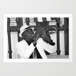 Trumpet Guy  Art Print
