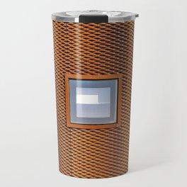 minimalist architectural detail Travel Mug