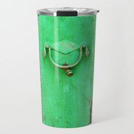 [mallorquin] ... the green door Travel Mug