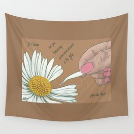 Je t'aime...un peu...beaucoup Wall Tapestry