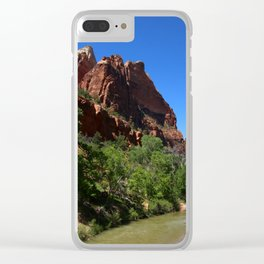 Along The Virgin River Clear iPhone Case