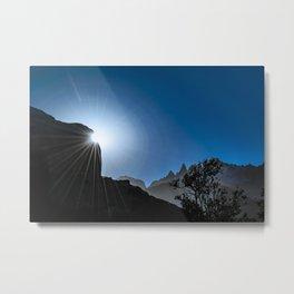 Patagonia Landscape Scene, Aysen, Chile Metal Print