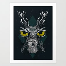 The Norths's Snow Patrol Art Print