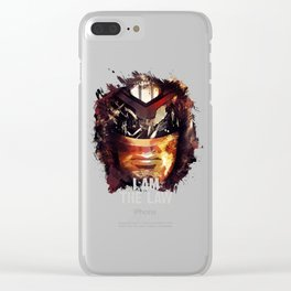 Judge Dredd - Sylvester Stallone Clear iPhone Case