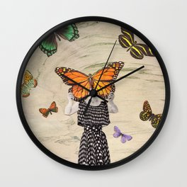 The butterflirst Wall Clock