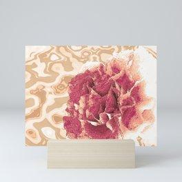 Risen Floral - Peony Mini Art Print