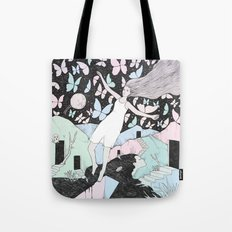 Butterfly Sky (Memories in a Dream) Tote Bag