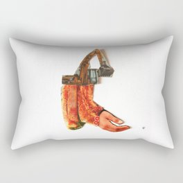 Normal Life · Dead End · (BaggerFleisch) Rectangular Pillow